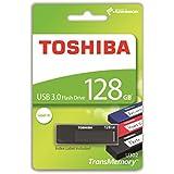 Toshiba THN-U302K1280MF TransMemory U302 128GB USB 3.0 schwarz/leer