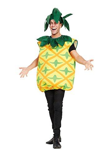 Kostüm Ananas Halloween - Bristol Novelty AF104 Ananas Kostüm, Bunt