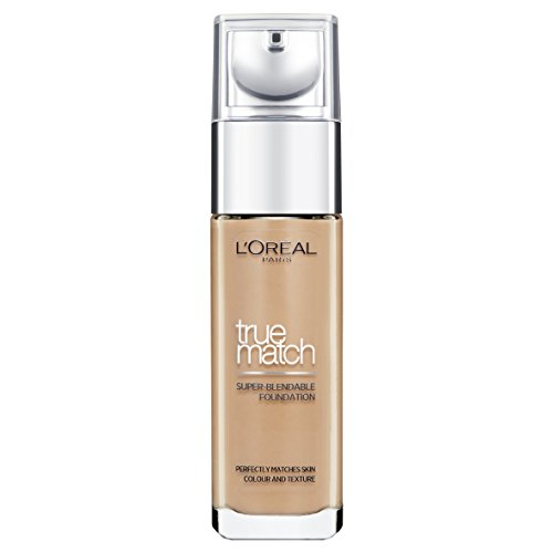 L'Oreal Paris True Match Liquid Foundation, D8W8 Golden Cappuccino, 30ml