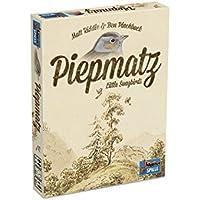 Lookout Games 22160098piepmatz–Little Song Birds, Juego de Cartas para Toda la Familia de Matt Riddle–Funda y Ben pinchback, Beige