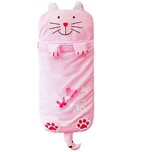Dong Ran Outdoorer Kinderschlafsack als Deckenschlafsack, 140 x 60 cm, leicht - Schlafsack für Outdoor Camping im Sommer
