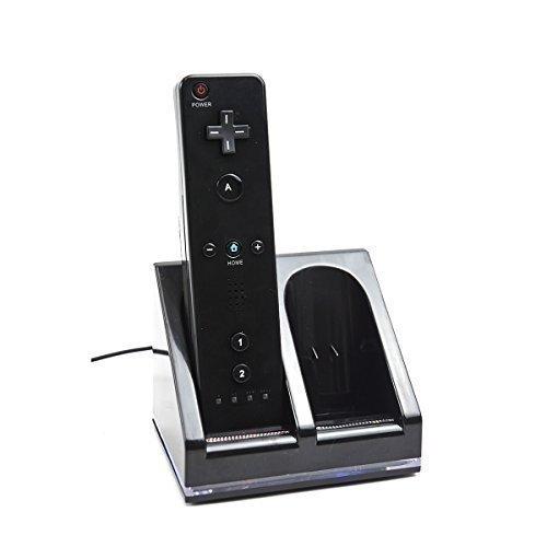 ual Ladegerät Dockingstation Lader Ladestation + 2 x 2800mAh Qualitäts AKKU für Nintendo Wii Remote Controller (Rayman Nintendo Wii U)
