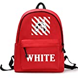 nicesale OFF Graffiti Speedband Bag Men and Women Student WHITE Bag Shoulder Bag Backpack bape Shark bag
