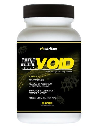 Vh Nutrition Estrovoid Östrogen-Blocker Für Männer | Aromatase-Hemmer, Anti-Östrogen Und Testosteron-Booster