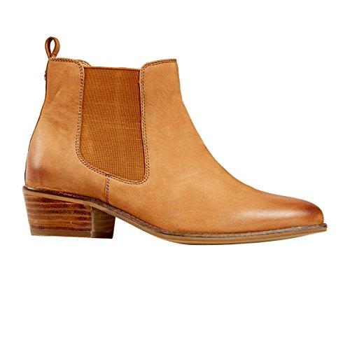 Van Dal Shoes Womens Benton Short Boots in Tan Nubuck 40 EU