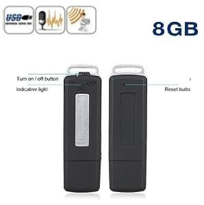 Micro Espion Clé USB Stylo Enregistreur Audio