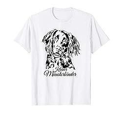 Kleiner Münsterländer Hund Hunde Portrait Jagdhunde T-Shirt