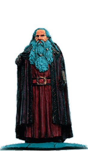 Lord of the Rings Señor de los Anillos Figurine Collection Nº 121 Dwarf Lord 1