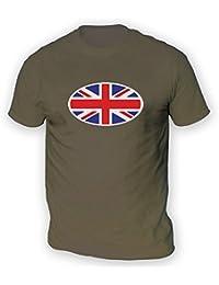 Union Jack Flag Mens T-Shirt -x13 Colours- XS To 3XL Sizes