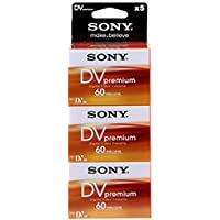 Sony DVM 60 PR Video cassette - Confezione da 5