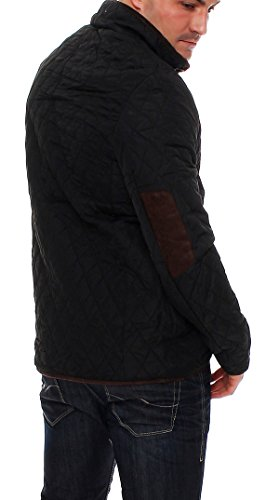 Epister Men`s`Wear Herren Steppjacke Übergangsjacke Rauten-Stepp Stehkragen Outdoor - 4