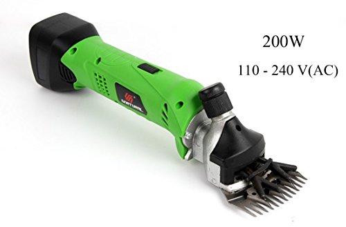 CWBB schermaschine schafe akku,Schaf Schermaschine Professional Heavy Duty 200W,A