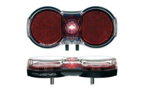 Preisvergleich Produktbild LED Rücklicht für Gepäckträger Toplight Flat mit Standlicht Busch + Müller