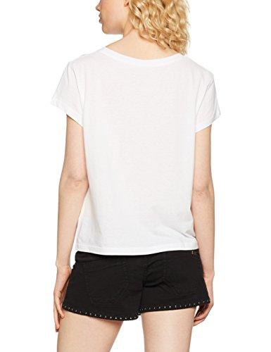 Cheap Monday Damen T-Shirt Have Tee Concrete Logo Weiß