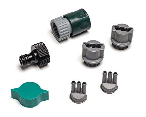 Rehau Wassernixe Zubehör Reparaturset ; Sprühschlauch Zubehör ; Reparaturset Sprühschlauch ; Zubehör-Set 7-tlg.
