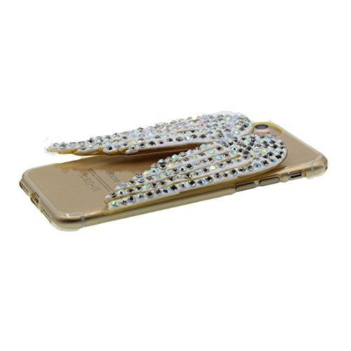 """iPhone 7 Plus (5.5 """") Coque, [Lucky Cat TPU Matériau Flexible Chat chanceux] Durable élégant étui, la poussière égratignures résistant, iPhone 7 Plus Case, Noir Noir 1"""