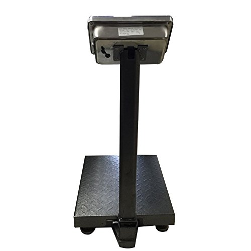 BILANCIA DIGITALE 300 KG A PIATTAFORMA ELETTRONICA DISPLAY LCD RETROILLUMINATO DIGITALE INDUSTRIALE PIEGHEVOLE *BILANCIATCS300K* - 2