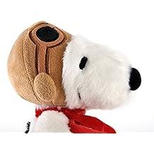 Aurora World - Snoopy Piloto de peluche, de 19cm