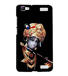 Krishna Hard Polycarbonate Designer Back Case Cover for Vivo V1 Max