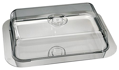 Schlemmerplatte / Tortenplatte / Kuchenplatte inkl. Frischhaltehaube | Gr. 42 cm x 31 cm