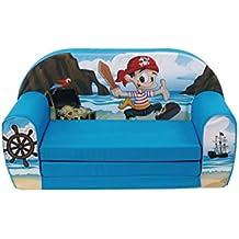 """'KNORRTOYS 68450Niños sofá """"Pirata"""