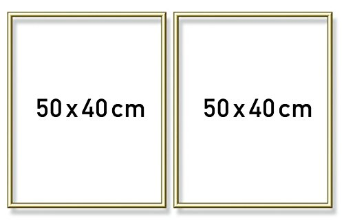 Noris Spiele 605160705 - Schipper Pintura por números díptico - Marco de Aluminio, 50 x 80 cm