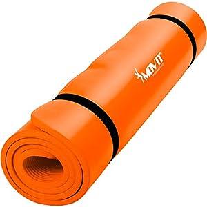 MOVIT Pilates Gymnastikmatte, Yogamatte, phthalatfrei, SGS geprüft, L 190cm x...