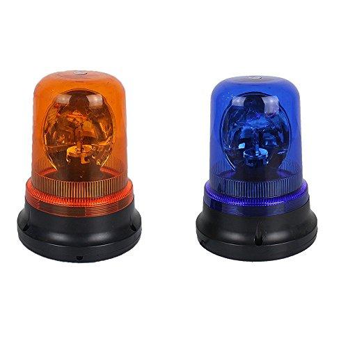 Paire de boîte de police Watchhouse Sentry Box véhicule Top Magnic Stick HID 12 V 100 W Swirlling d'urgence avertissement Strobe Plough lampe de travail Rouge et Bleu