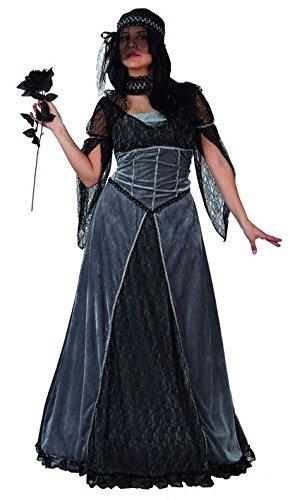 Atosa 4936 - Verkleidung Braut der Finsternis (Braut Der Finsternis Für Erwachsene Damen Kostüm)