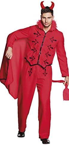 Boland Homme 79109 Costume de diable pour adulte Taille 50/52 Homme Boland Rouge 4c975e