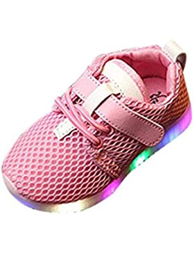 LED Schuhe Baby Turnschuhe Jungen Mädchen Kinder leuchten leuchtende Kind Trainer laufen Lauflernschuhe Luckygirls