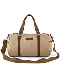 dc9e7f0bee Amazon.co.uk  Beige - Travel Duffles   Suitcases   Travel Bags  Luggage