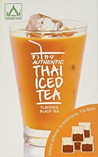 Authentic Thai Iced Tea Flavored Black Tea,20 tea bags