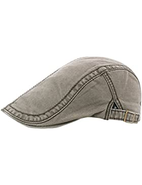AIEOE Sombrero de Boinas Beret Gorro con Visera Protección del Sol Transpirable Bailey Cap para Hombre Mujer Verano