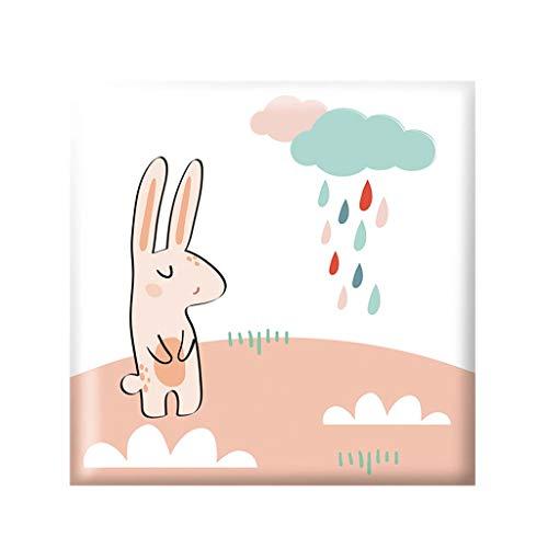 Selbstklebende Tapete YONGYONGCHONG XPE Schaum Baumwolle Wasserdicht Dekorative Aufkleber Antikollisions Weiche Paket Wand Umgebung Kinderzimmer selbst Aufkleber (30 cm * 30 cm/Block) (Color : D) (Papier Dekorative Platten)