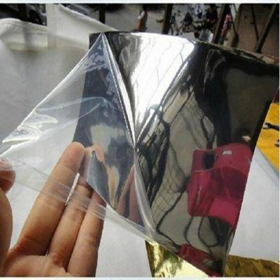 Preisvergleich Produktbild StickersLab Chromfolie für Auto und Motorrad,  haftend,  schlägt keine Blasen,  Silberfarben