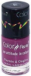 Color Fever Absolute Matt Nail lacquer - Matt Plum 0.30 Ounce