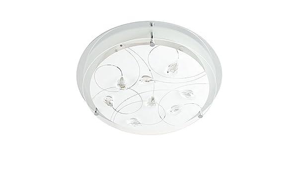 Plafoniere Minisun : Minisun lampada da soffitto moderna elegante e rotonda con un