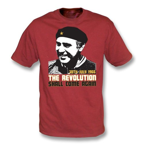 Alf Ramsey-The Revolution Shall Come T-Shirt wieder Rot