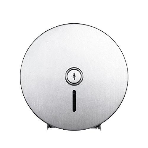 Dependable Direct Jumbo Rolle Toilettenpapier Spender-Abschließbar Design-430Edelstahl-Satin Finish-250m Lang bis zu 4-1/10,2cm 2-Lagig Tissue -