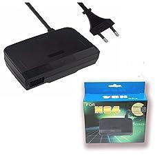 Childhood Adattatore caricatore della parete del rifornimento di corrente alternata per Nintendo 64 sistema N64