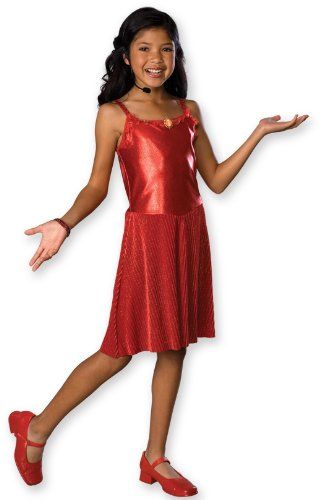 Deluxe Gabriella Child Costume Large (Gabriella Aus High School Musical Kostüm)