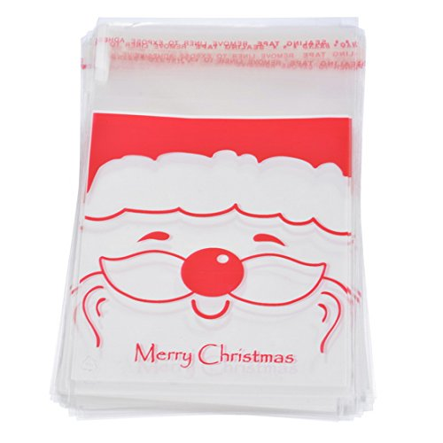 souarts-sac-sachet-pochette-demballage-pour-cookies-bonbons-biscuit-motif-pere-noel-10x15cm-50pcs