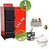 Chaudière à Pellets Pelling 35 Eco 151 kg + Granulés + Bafa Transportable Complet 1