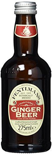 Fentimans Ginger Beer, 12er Pack, EINWEG (12 x 275 ml)