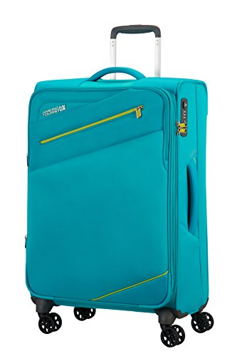 american-tourister-pikes-peak-4-roues-68-25-extensible-valise-68-cm-72-l-aero-turquoise