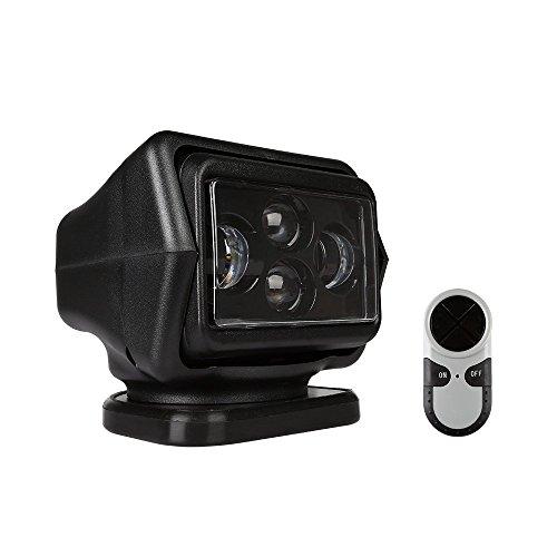 AFTERPARTZ® fernbedient 360°drehbar LED Suchscheinwerfer Arbeitsscheinwerfer IP65 (60W Mini Schwarz)