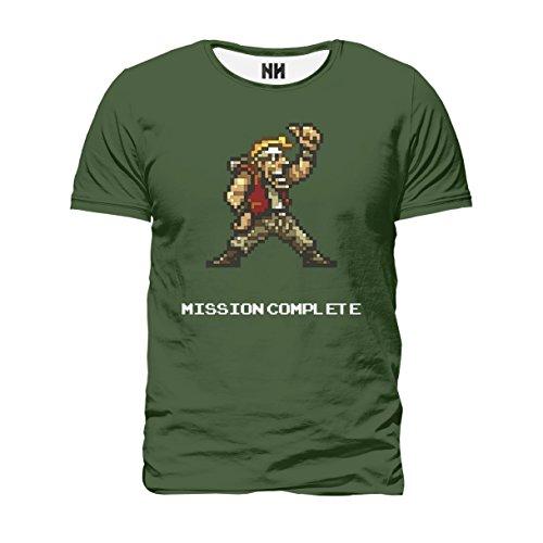 METAL SLUG MISSION COMPLETE - T-Shirt Man Uomo - Videogiochi Retrogame Console Sala Giochi Playstation