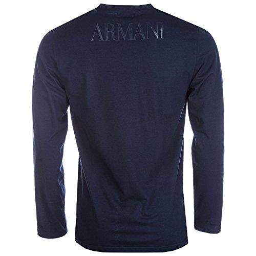 EMPORIO ARMANI Sweater Longsleeve 111653 6A516 00135 MARINE HW16 Blau