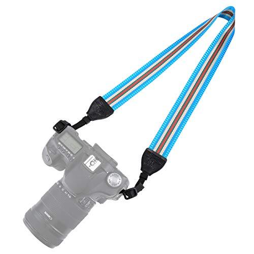 BYbrutek Kameragurt für DSLRs, Weich Kamera Schultergurt (universal passend), 150cm Long, 3.8cm Wide (6010LB) - Canon Wide Strap